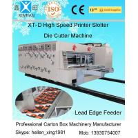Buy cheap Corrugated Box Flexo Printer Slotter Machine / Single Color Flexo Printing Machine from wholesalers
