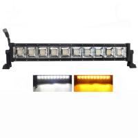 Buy cheap Offroad Dual Color 22inch Strobe Led Light Bar 4x4 Spot Lights from wholesalers