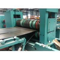 Buy cheap Colored Steel Coil Slitting Line Thickness 0.3 - 3mm 100 M Every Minute from wholesalers