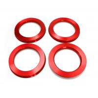 Buy cheap High Performance Red Wheel Hub Centric Rings 108 To 78.1 Mm For Chevrolet GMC from wholesalers