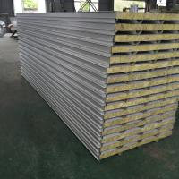 Buy cheap Waterproof Metal Insulated Sandwich Panels , Rockwool Sandwich Panel Roofing Sheets from wholesalers