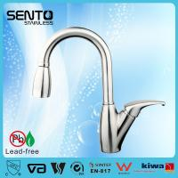 Buy cheap SENTO pull out spring kitchen sink faucet from wholesalers