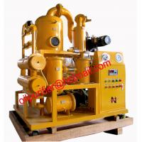 Buy cheap Mobile Double Stages Vacuum Transformer Oil Purifier System, transformer oil purification equipment from wholesalers