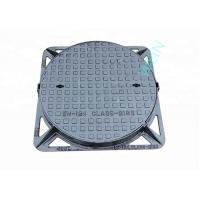 Buy cheap Round Double Sealed Internal Inspection Chamber Cover Ductile Iron EN124 from wholesalers