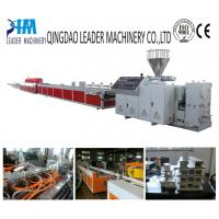 Buy cheap pvc/upvc window and door profile extrusion line from wholesalers