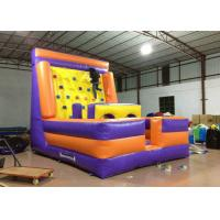 Buy cheap Inflatable Water Climbing Wall / Tower , Funny Attractive Blow Up Climbing Wall from wholesalers