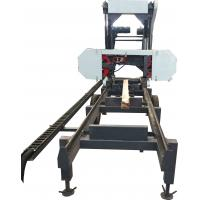Buy cheap Lumber Cutting Saw Machine,Mobile Horizontal Band Sawing Machine, Saw Mills from wholesalers