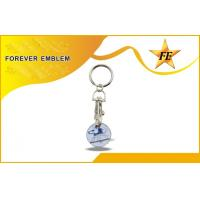Buy cheap Metal 1 Euro Supermarket Trolley Coin Keychain With Coin Holder from wholesalers