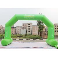 Buy cheap Green Custom Inflatable Arch Stitch Fasten Tape UV / Digital Printing from wholesalers