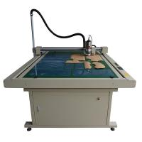 Buy cheap Clothing Inkjet Flatbed Cutter made in China with CE certification from wholesalers