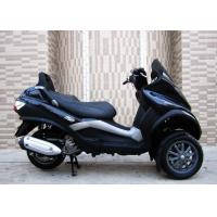 Buy cheap 250cc Black Tri Wheel Motorcycle With Windshield Rear Box / CVT Transmission from wholesalers