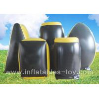 Buy cheap Professional Inflatable Sports Games , Inflatable Paintball Bunker With 0.55 PVC Material from wholesalers