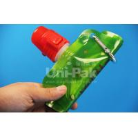 Buy cheap Collapsible Plastic Anti-bottle Water Bag With Carabiner Hook from wholesalers