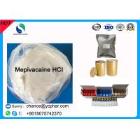 Buy cheap Surface Anesthesia Drugs Mepivacaine Base for Abdominal Surgery CAS 22801-44-1 Local Anesthetic Drugs Mepivacaine HCI from wholesalers