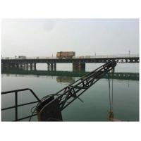 Buy cheap Surface Painted Pre Engineered Bridges , Double Lane Modular Steel Bridge product