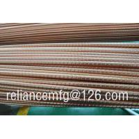 Buy cheap Extrusion Corrugated Seamless B111 C12200 Spiral Copper Low Fin Tube For Heat Exchanger from wholesalers