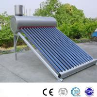 Buy cheap 150liter non pressure solar water heater from wholesalers