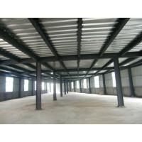 Buy cheap High Strength Garage Steel Frame With Colored Steel Sheet And Frp Lighting Tiles from wholesalers