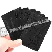Buy cheap 2 Regular Index Invisible Playing Cards Side Marked In Magic Show / Casino Game from wholesalers