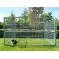 Buy cheap Zinc Plating Movable Metal Dog Kennel Outside Dog Cages For Large Dogs from wholesalers