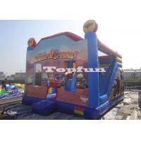Buy cheap Custom Bouncy Car House Commercial Jumping Castle Inflatable With Digital Print from wholesalers