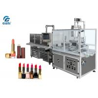 10 Nozzles Semi Automatic Lipbalm Filling Machine For Pearl Powder Materials, with Chilling Tunnel