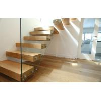 Buy cheap diy indoor frameless glass railing build floating stairs prices from wholesalers