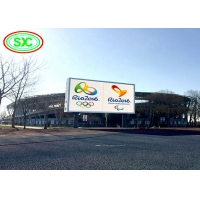 Buy cheap Waterproof IP65 SMD3535 6mm Pixel Fixed LED Billboard 6500nits from wholesalers