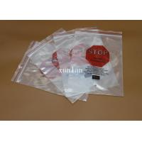 Buy cheap Flat Top Open PE Plastic Bags Offset Printing With 2 Or 3 Sealing Sides from wholesalers