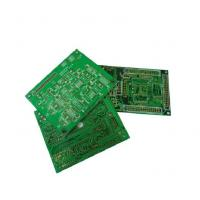 Buy cheap Industrial White Silkscreen 4 Layers 0.5OZ Rigid PCB from wholesalers
