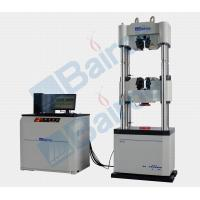 Buy cheap HUT-1000 Hydraulic Servo Universal Testing Machine, Mechanical test, Round & flat specimen from wholesalers