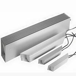 Buy cheap White trapezoid aluminum housing resistance inverter brake resistance brake resistance/inverter applicable resistance from wholesalers