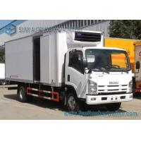 Buy cheap 139 kw / 190 hp ISUZU 700p refrigerated delivery truck Load  10 T fridge truck hire from wholesalers