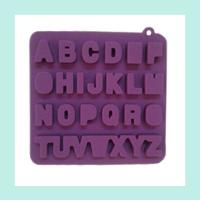 Buy cheap silicone cake letter molds ,silicone cake decorating molds china product