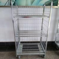 Buy cheap Vegetable Logistics Trolley Promotion Rack Powder Coated Surface Treatment from wholesalers