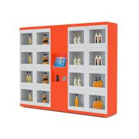 Buy cheap 24/7 Intelligent Remote Control Electronic Locker System Retail Vending Machines from wholesalers