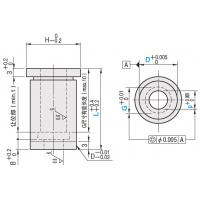 Buy cheap Double Stepped Die Buttons SKD11 HSS Guide / Headed Type Punch Leader Bushing from wholesalers