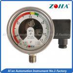 Buy cheap Sulfur Hexafluoride Gas Pressure Gauge , Bottom Mounting 4 Inch Pressure Gauge from wholesalers