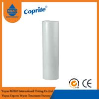 Buy cheap 20B 1 / 5 Micron White PP Sediment Water Filter Cartridge For Water Filter from wholesalers