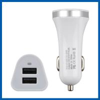 China 24V 5.1A Dual Port Universal Power Adapter With USB White 15.5W on sale