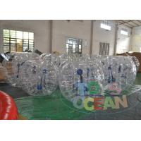 Buy cheap Water Zorbing Full Body Inflatable Bumper Ball Roller Security 1.0mm TPU from wholesalers