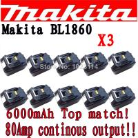 Buy cheap Makita 18V 3Ah Lithium battery Makita BL1830 Power Tool battery from wholesalers
