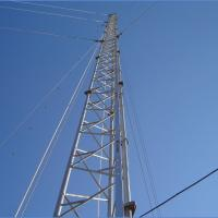Buy cheap Triangle Self Supporting Antenna Tower Signal Transmission Guyed Wire Tower from wholesalers
