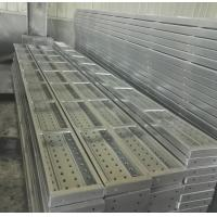Buy cheap Q235 Material, Scaffold Galvanized Steel Decking Perforated Steel Plank from wholesalers
