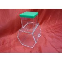 Buy cheap Enviromental And Durable Clear Acrylic Storage Boxes With Lock product