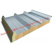 Buy cheap 960mm Width Reliable Structure Mineral Wool Sandwich Panels for Cold Room Storage Roof Panel product