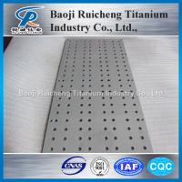 Buy cheap MMO titanium anode mesh for seawater electrolysis from wholesalers