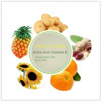 Buy cheap DOWCROP HIGH QUALITY HOT SALE AMINO ACID CHELATED BORON LIGHT YELLOW 100% CONMPLETELY WATER SOLUBLE  ORGANIC FERTILIZER from wholesalers