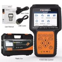 Buy cheap FOXWELL NT650 Elite OBD2 Automotive Scanner ABS SRS SAS DPF Oil Reset Code Reader Professional Car Diagnostic Tool OBD2 from wholesalers