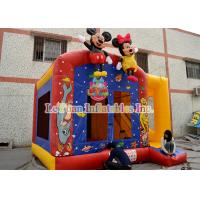 Buy cheap Interesting Inflatable Mickey Mouse Bounce House Allow Individual Requirements from wholesalers